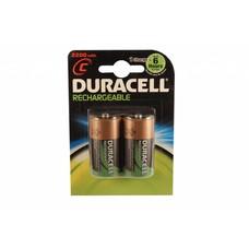 Duracell Oplaadbare C batterijen 3000 mAh