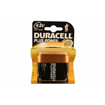 Duracell plus power alkaline 4,5V blok batterij