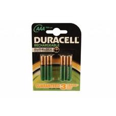 Duracell AAA oplaadbare batterijen 750 mAh