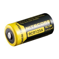 Nitecore RCR123A  16340 oplaadbare batterij