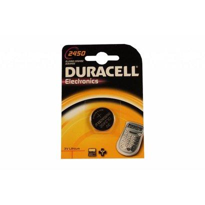 Duracell CR2450 3V lithium knoopcel batterij