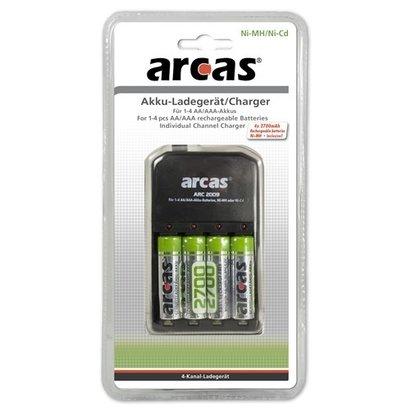 Arcas batterijlader NiMH