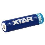 XTAR 18650 Li-ion batterij 2600 mAh protected