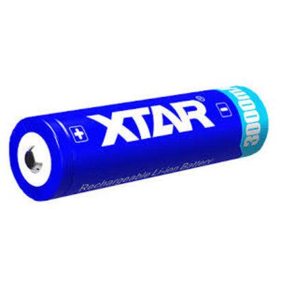 XTAR 18650 Li-ion oplaadbare batterij 3,6V 3000 mAh protected