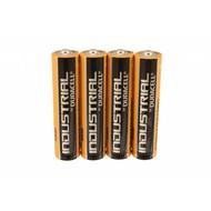 Duracell industrial AAA batterijen folie 4 stuks