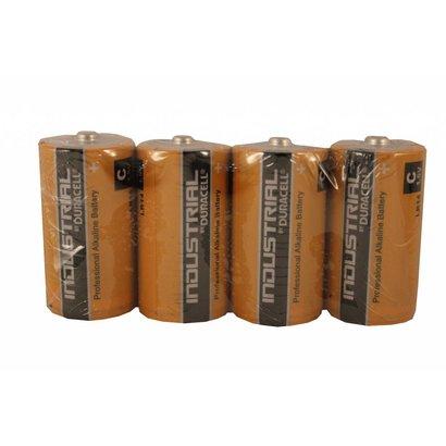 Duracell industrial C Cell batterijen folie 4 stuks