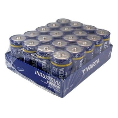 Varta industrial C Cell batterijen tray 20 stuks