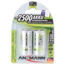 Ansmann Oplaadbare C batterijen 2500 mAh