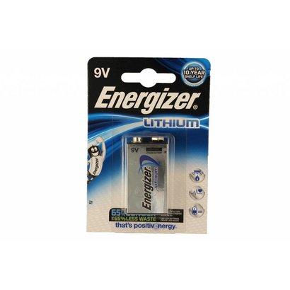 Energizer 9V lithium batterij