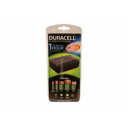 Duracell CEF22 universele batterij oplader snellader NiMH