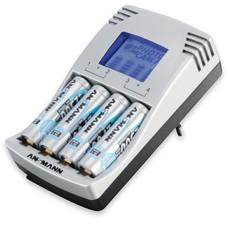 Ansmann batterijlader photocam IV incl. 4x 2500 mAh batterijen