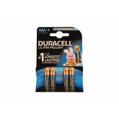 Duracell ultra power alkaline AAA batterijen