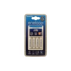 Eneloop batterijlader 10 uurs incl. 4x 2000 mAh batterijen NiMH