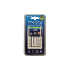 Eneloop batterijlader 7 uurs incl. 4x 2000 mAh batterijen NiMH