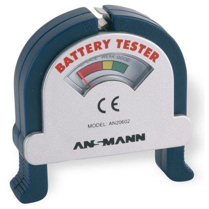 Ansmann analoge batterijtester