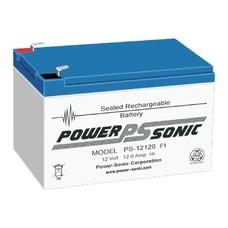 Powersonic loodaccu 12V 12 Ah PS-12120H F1