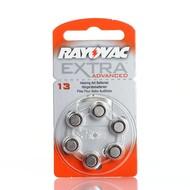 Rayovac extra advanced hoortoestel batterijen type 13 | oranje | PR48