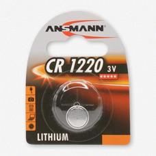 Ansmann CR1220 3V lithium knoopcel batterij (3 Volt)