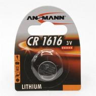 CR1616 3V lithium knoopcel batterij (3 Volt)