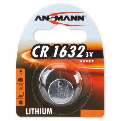 Ansmann CR1632 3V lithium knoopcel batterij (3 Volt)