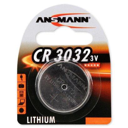 Ansmann CR3032 3V lithium knoopcel batterij (3 Volt)