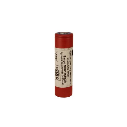Sanyo NCR18650GA Li-ion batterij 3450 mAh unprotected