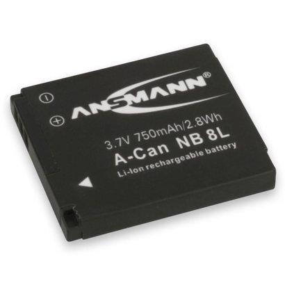 NB-8L Canon accu digitale camera