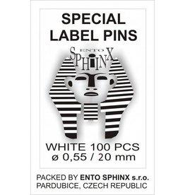 Ento Sphinx Label pins 20mm
