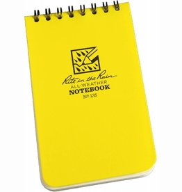 Rite in the Rain Waterproof Top Spiral Notebook Yellow