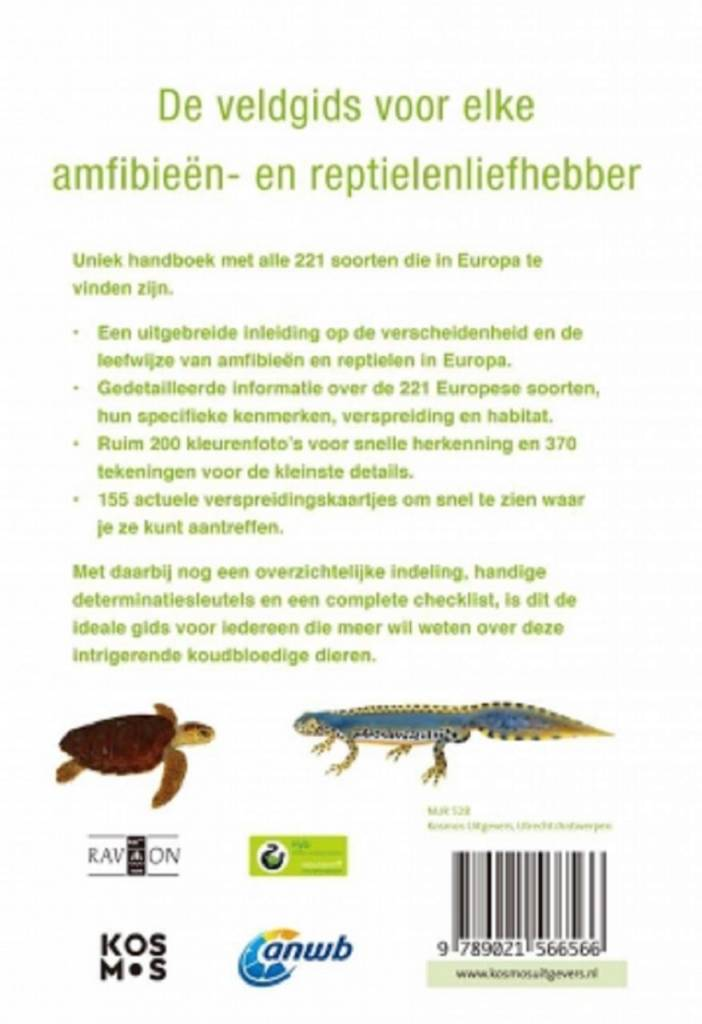 ANWB Amphibian and reptile guide