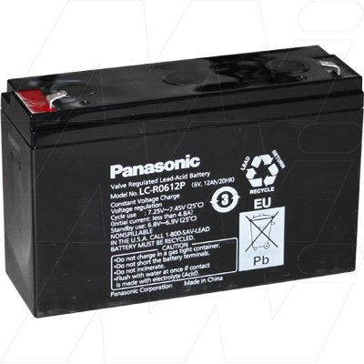 ecoObs Lead Battery pack for Box extension