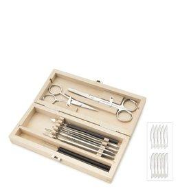 Euromex Prepareer set in houten kist - 9-delig