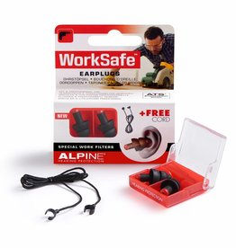 Alpine WorkSafe Oordoppen