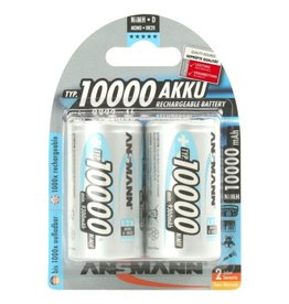 Ansmann NiMH Premium maxE 10000mAh D - 2 pack