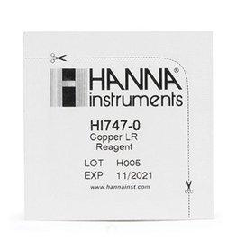 Hanna Instruments HI747-25 Reagentia voor Koper LR, 25 Testen