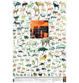 Korck Zoogdieren van Zuidelijk Afrika Poster