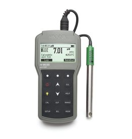 Hanna Instruments HI98190 portable waterproof pH, mV, ORP and temperature meter