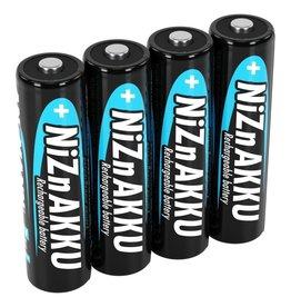 Ansmann NiZn Oplaadbare Batterijen 2500mWh AA 4-Pack