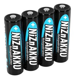 Ansmann NiZn Rechargeable Batteries 2500mAh AA 4-Pack