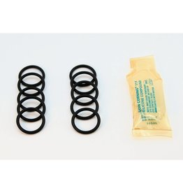 Lowell Instruments Replacement O-rings and Backup Rings (10 Pack) for TCM-5