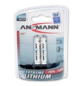 Ansmann Lithium AAA - 2 pack