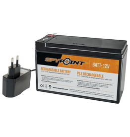 Spypoint 12V battery and charger kit for Spypoint