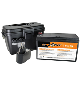 Spypoint 12V battery, charger & housing kit for Spypoint