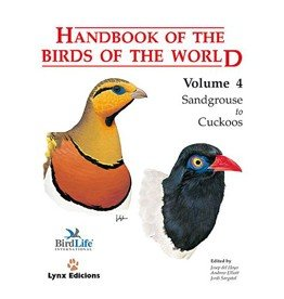 Handbook of the Birds of the World 4
