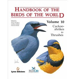 Handbook of the Birds of the World - Volume 10
