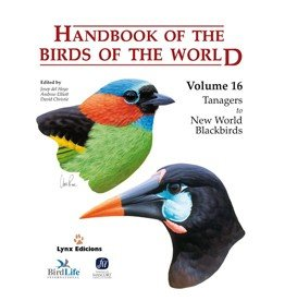 Handbook of the Birds of the World - Volume 16