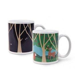 Kikkerland Morph Mug Woodland