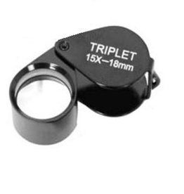 Byomic Loupe Triplet 10x18, 15x18 or 20x18
