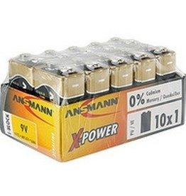 Ansmann Alkaline XPOWER 9V - 10 pack