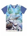 t shirt Army iguana